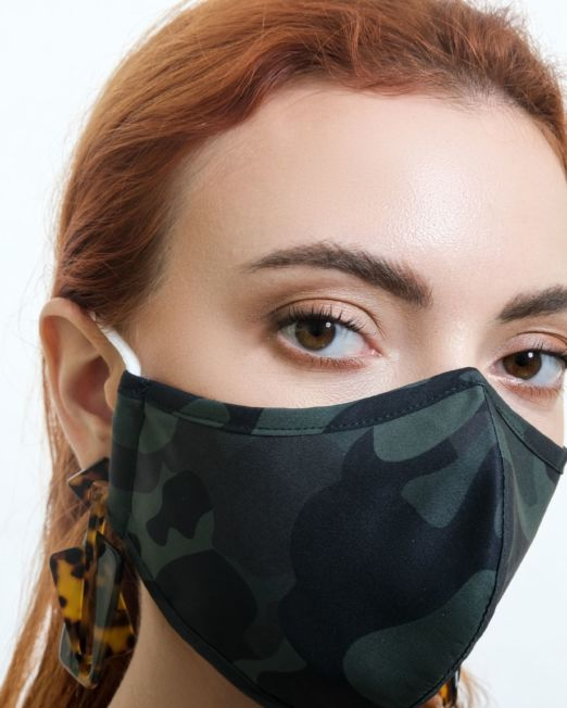 Military Cotton Mask by Miira