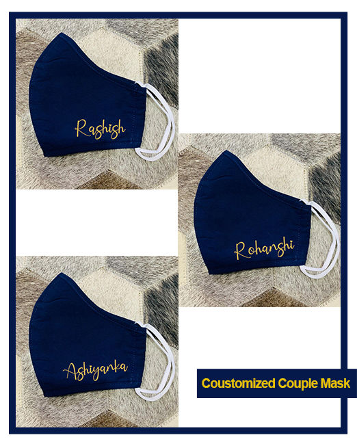 Coustomized Couple mask