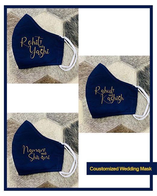 Coustomized Wedding Mask
