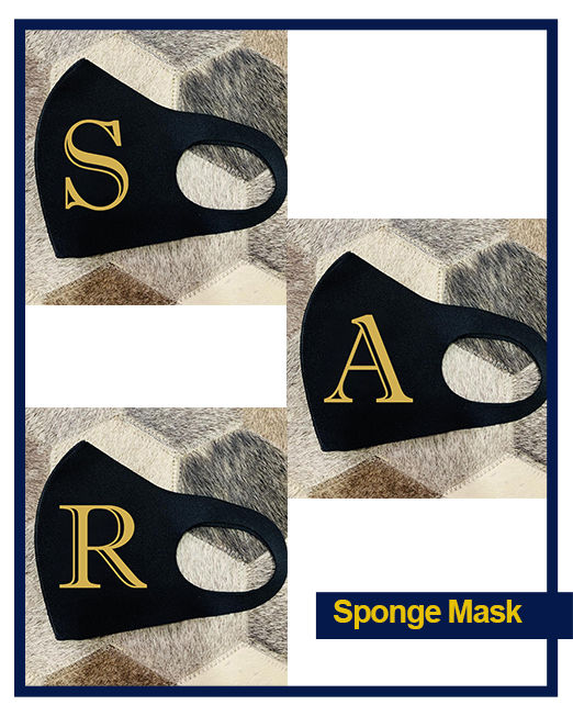 Sponge mask collage