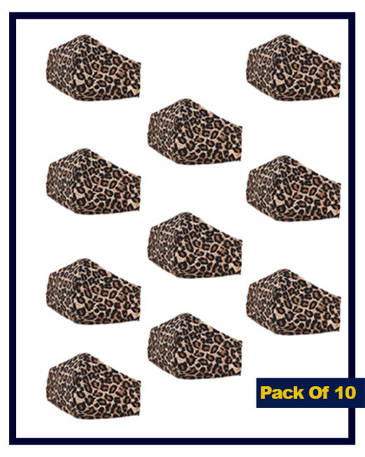 leopard pack of 10